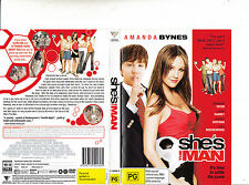 She's The Man-2005-Amanda Bynes-Movie-DVD