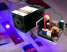 450nm 1200mW DPSS Blue Laser Module for Stage Light Show DIY CNC/TTL Modulation