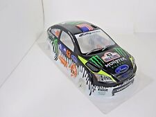 Focus Pre-Painted Body 1/10th Scale Ken Block Ford Monster HPI Traxxas Kyohso