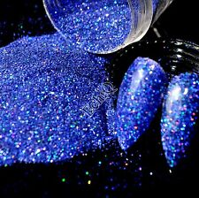 Holographic Nail Glitter Powder Diamond Blue AB Nail Art UV Shimmer Glitter N58