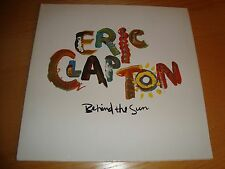 "ERIC CLAPTON ""BEHIND THE SUN"" LP g/f **1st press 1985 DUCK RECORDS/German NrMINT"