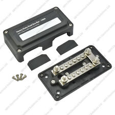 Heavy Duty Dual Bus Bar / Distribution Box & Screw On Cover - 100A - 16 Circuits