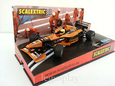"Slot SCX Scalextric 6044 Orange Arrows F1 team 2000 Showcar ""Pedro de la Rosa"""