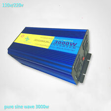 3000W / 6000W Pure Sine Wave Power Inverter DC 12V/24V To AC 110v /220v LED