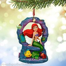 2015 Disney Store Ariel Sketchbook Ornament The Little Mermaid Musical Song NIB