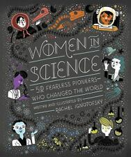 Women in Science : 50 Fearless Pioneers Who Changed the World c2016 NEW HC