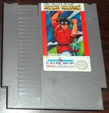 Nintendo NES. The Secret Scroll Flying Dragon. NTSC USA/CAN