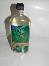 Bath & Body Works Stress Relief EUCALYPTUS SPEARMINT Body Wash Foam Bath 10 oz