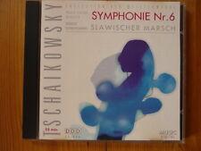 """TCHAIKOVSKY Sinfonie 6-""""Pathetique"""" / Slawischer Marsch Adam Fischer, Unp"""