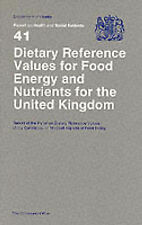 Dietary Reference Values of Food Energy & Nutrients for the U. K. (Coma Rpt) (Re