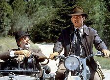PHOTO HARRISON FORD  ET SEAN CONNERY DANS INDIANA JONES  - 11X15 CM  # 3