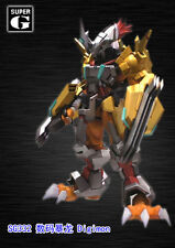 Unpainted WarGreymon, digimon, resin model kit