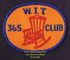 LMH Patch WINNEBAGO TRAVELERS 365 Club ITC RV Motorhome WIT W.I.T.  Itasca Chair