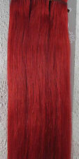 "Lot 15""-36"" Clip In Remy Real Human Hair Extensions Straight Any Color 5g-140g"