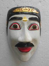 Maske Holz Orientalisch/Asiatisch Weiß Topeng Bali NMST117