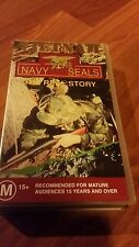 NAVY SEALS THE REAL STORY- VIETNAM VHS VIDEO TAPE