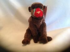 Ty Original Beanie Babies Retired Cheeks the Baboon May 18, 1999 MWMT
