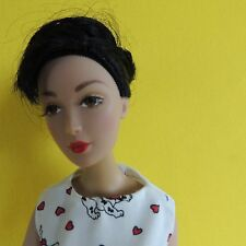 "MADAME ALEXANDER 2000 16"" FASHION DOLL-Black Hair Brown Eyes Marked #0477"