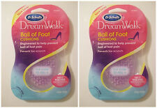 LOT 2 NEW DR. SCHOLL'S Women's DREAMWALK BALL OF CUSHIONS Insole~For High Heals