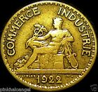 France - French 1922 50 Centimes Coin - Great Coin - Combined S&H DISCOUNTS