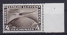 DR Mi Nr. 498 **, Zeppelin Chicagofahrt Deutsches Reich 1933, postfrisch, MNH