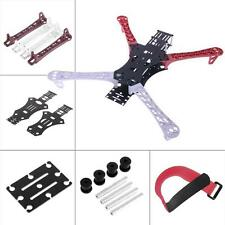 F450 MultiCopter Quadcopter Frame Kit Upgrade rack Fibre White & Bras-Rouge- DC