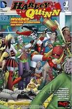 DC Comics 2014 New 52 HARLEY QUINN INVADES SAN DIEGO COMIC CON #1 Near Mint SDCC
