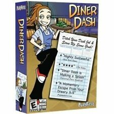 DINER DASH   PC & MAC  build your empire of high-class restaruants  NEW in BOX