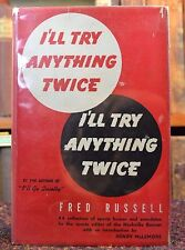 "Signed & Inscribed by Fred Russell ""I'll Try Anything Twice"" Nashville TN 1945"