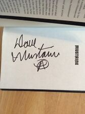 SIGNED Mustaine : A Heavy Metal Memoir Dave Mustaine HC 1st + Pic Megadeth