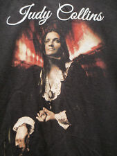 JUDY COLLINS Color T-Shirt size Large  Folk Music Singer Beatnik Coffee House