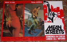 FOTOBUSTA 1, MEAN STREETS, ROBERT DE NIRO, KEITEL, SCORSESE, GANGSTER MOVIE