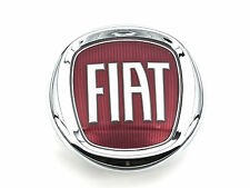 Genuine New FIAT BOOT BADGE Tailgate Red Emblem For 500 2007+ Multijet JTD Hatch