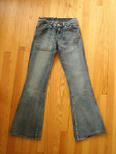 Rock Republic MOTLEY Distressed Look Light Wash Flare Leg Jeans 25x31