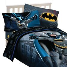 3pc DC Comics Batman Twin Bed Sheet Set Guardian Speed