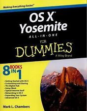 OS X Yosemite All-in-One For Dummies, Chambers, Mark L., Acceptable Book