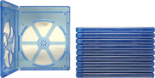 (10) BRBR12BL-ECO Eco Friendly Blu Ray Replacement Boxes / Cases Blu-Ray DVD
