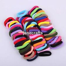96pcs Baby Girls Children Elastic Hair Ties Bands Rope Ponytail Holders Headband