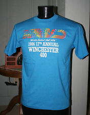 Vintage WINCHESTER SPEEDWAY 1986 Winchester 400 Racing T-Shirt ~  L