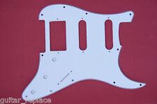 Golpeador Pickguard Stratocaster 3 Capas Blanco HSS Humbucker Salvapuas Strat