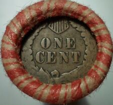 OLD ESTATE COINS - WHEAT / INDIAN CENT ROLL - INDIAN HEADS ON BOTH ENDS #W1