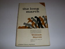 THE LONG MARCH by WILLIAM STYRON, Modern Library Paperback, 1952, 1st Ed., PB!