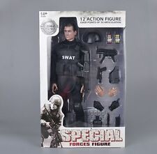 "Super System S.W.A.T. 1/6 Scale Special Weapons And Tactic Model Toys 12"" Figure"
