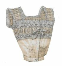 Patch Thermocollant en tissu Lingerie ancienne Bustier Iron-on patch underwear