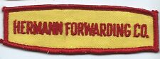 Hermann Forwarding Co. driver patch 1-3/8 X 4-1/2