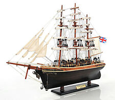 """The Cutty Sark Wooden Tall China Clipper Ship Model 22"""" Fully Built New"""
