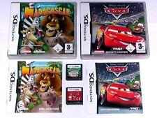 Spiele: Disney´s CARS + MADAGASCAR für Nintendo DS + Lite + 3DS + XL
