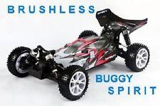 BUGGY ELETTRICO BRUSHLESS SPIRIT EBL CON LIPO 7,4V RADIO 2.4gHz 1:10 RTR 4WD VRX