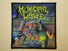 MUNICIPAL WASTE The Art Of Partying printed NEW patch thrash metal