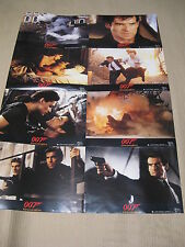 JAMES BOND 007 - GOLDENEYE Aushangfotos Lobbycards PIERCE BROSNAN 1995